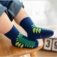 1 12y 5pairs children socks autumn and winter new three dimensional cartoon baby boy girl kids socks