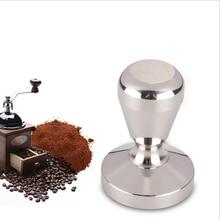 51/58mm Edelstahl Kaffee Tamper Barista Espresso Tamper Basis Kaffee Bean Presse Kaffeestempel    -