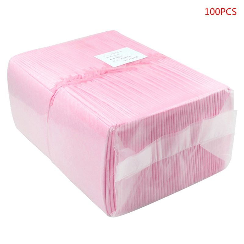 100Pcs/Pack Baby Disposable Changing Pad Infant Breathable Waterproof Diapers
