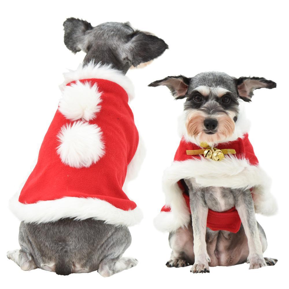 Ropa de Perro lindo para perros pequeños Chihuahua yorkys Ropa abrigo Ropa de invierno para perros Christmas mascota cachorro chaqueta Ropa Perro rosa s-L