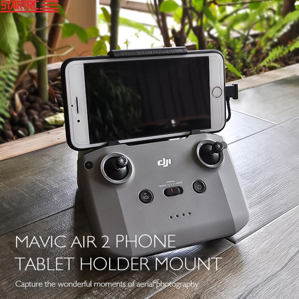 Suporte de tablet startrc mavic air 2, suporte de montagem fixa de expansão para i pad mini 2 3 4 i pad air 1 2 3 montagem do tablet