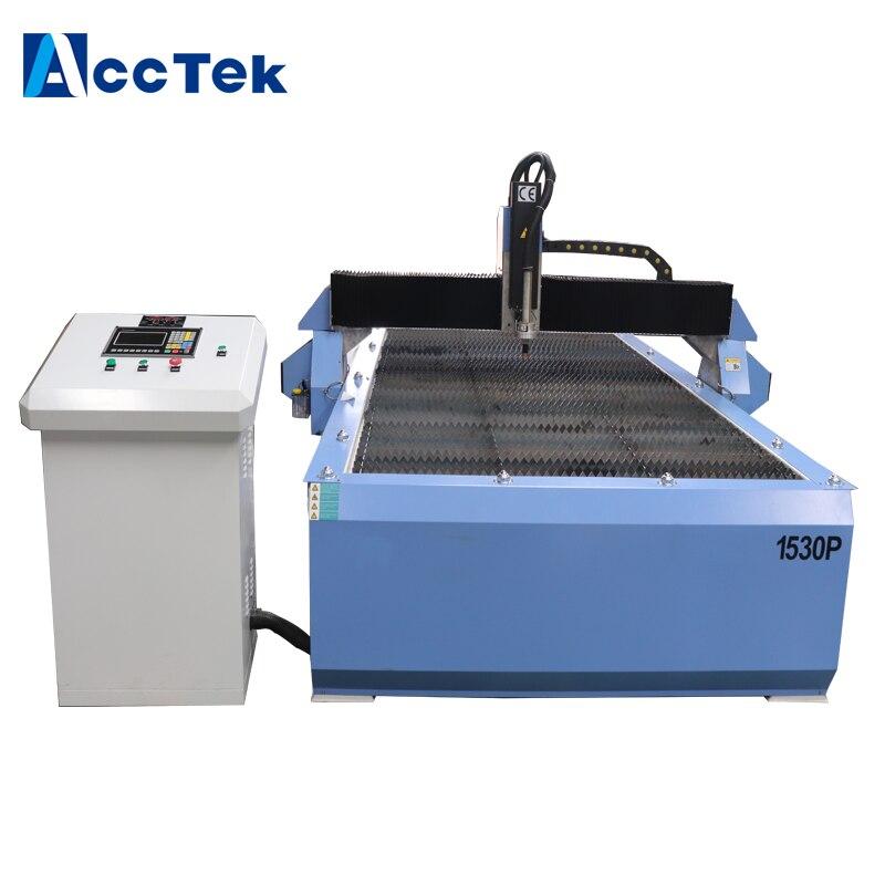 Máquina de corte de alumínio do perfil do cnc do plasma do cnc do plasma do cortador 1500*3000mm