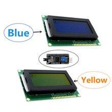 LCD 1604 16X4 16*4 Zeichen LCD Modul Display LCM Gelb/Blau Mit Led-hintergrundbeleuchtung SPLC780 HD44780 Controller IIC/I2C