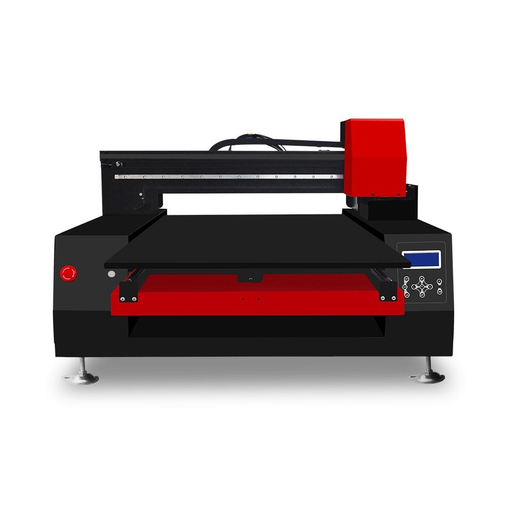 Automatic A1 6090 UV printer with 3 xp600 printhead UV flatbed printer for glass wood ceramic acrylic UV printer with varnish