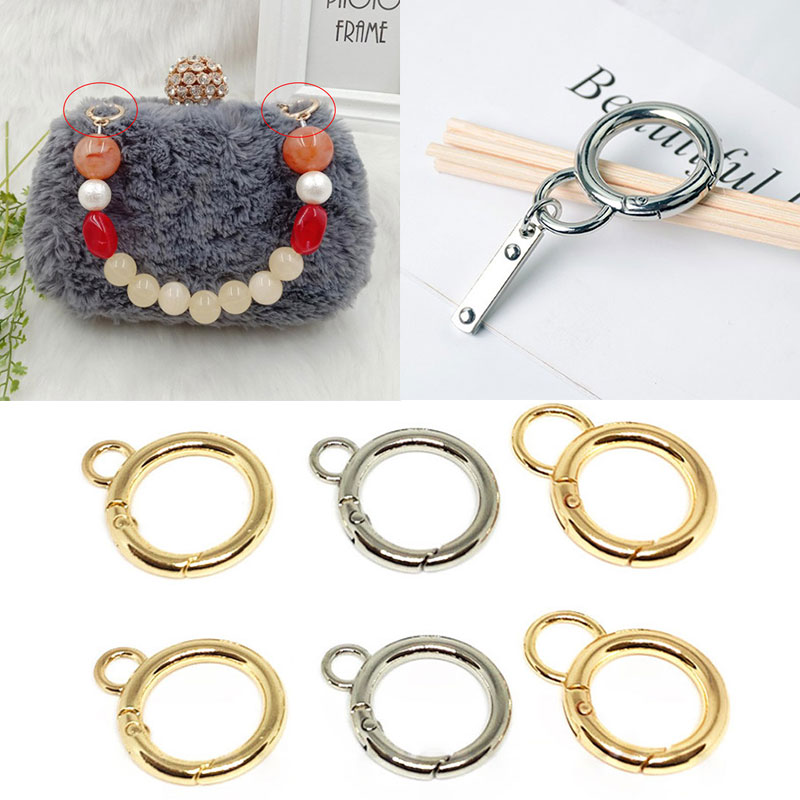 1pcs 8 Spring Alloy Buckle Bag Luggage Accessories Buckle Alloy Hook Practical Hook Buckle Figure Ca