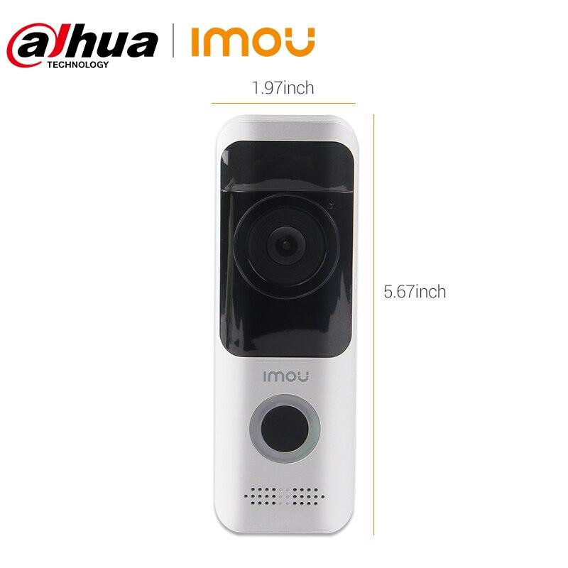Dahua imou Wireless Doorbell 1080P Video Intercom PIR Detection Night Vision IP65 Waterproof WiFi Rechargeable Battery Doorbell enlarge