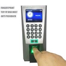 F18 hiszpański system kontroli dostępu z czytnikiem linii papilarnych opcjonalny kontroler zamka drzwi karty