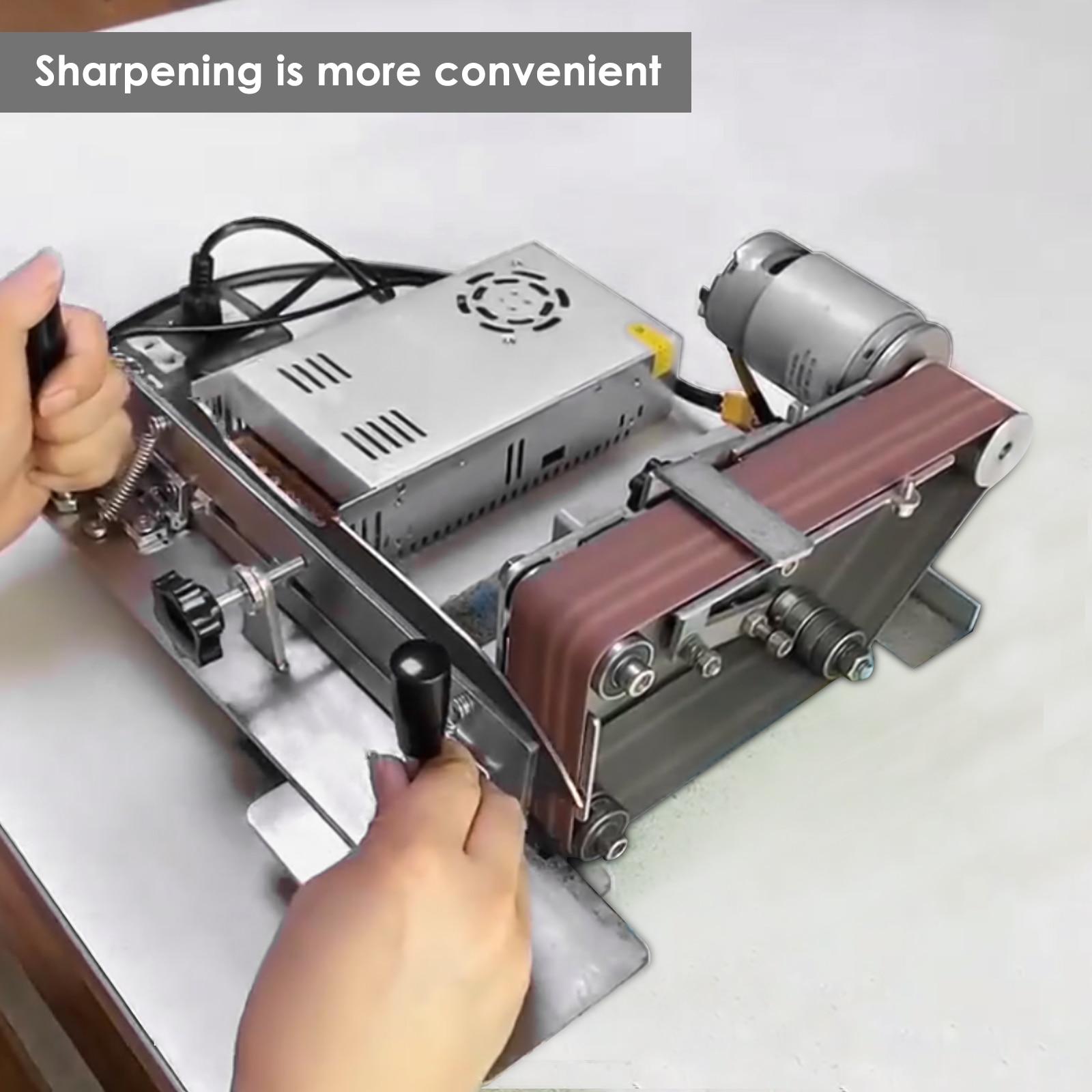 Belt Grinder Knife Jig Knife Sharpener Jig Sharpening Locator Knife Sharpening Clip For Belt Sander/Belt Machine enlarge
