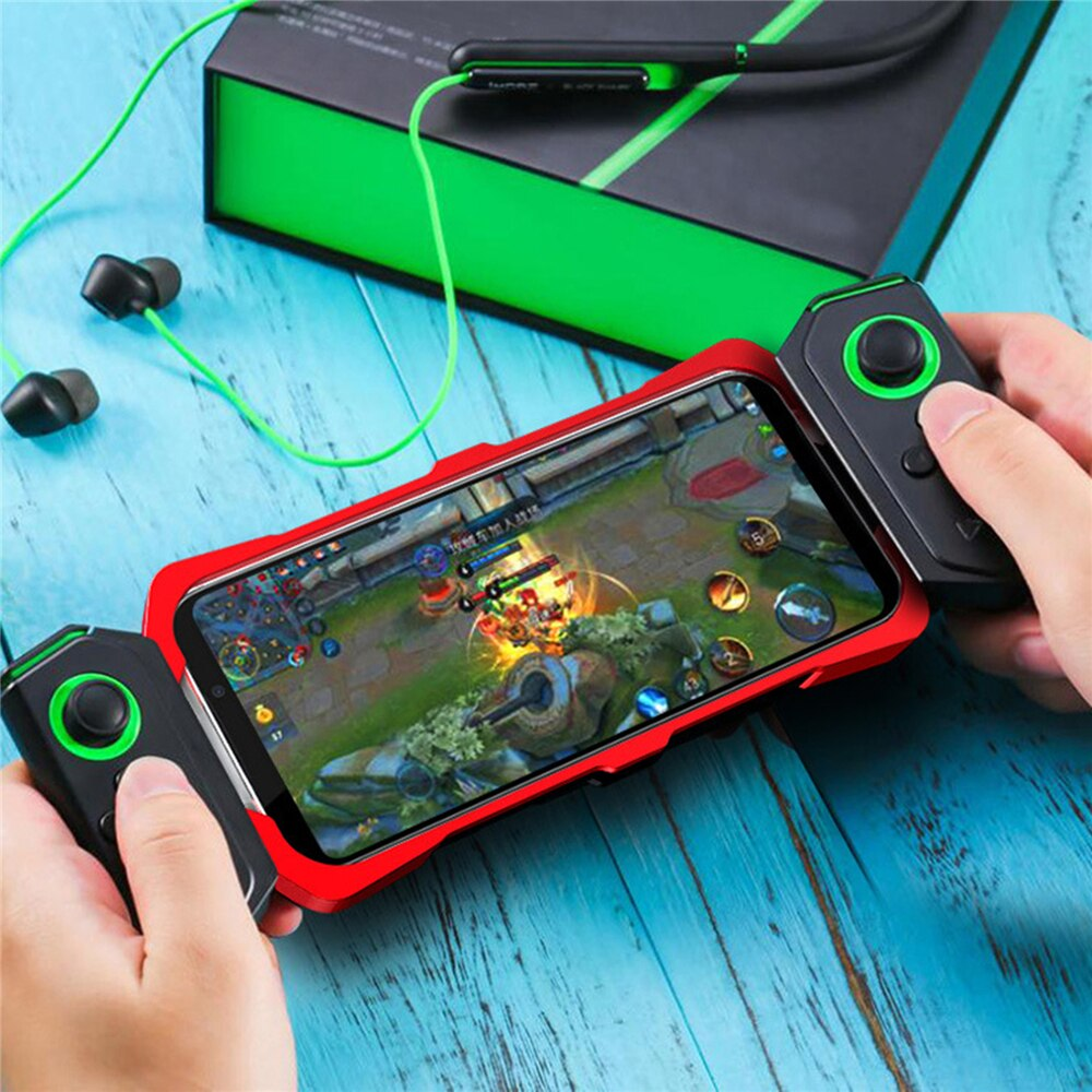 Para Black Shark 2/2 Pro Gaming Phone Gamepad, soporta Anti-caída, carcasa de teléfono de Metal, carcasa protectora trasera