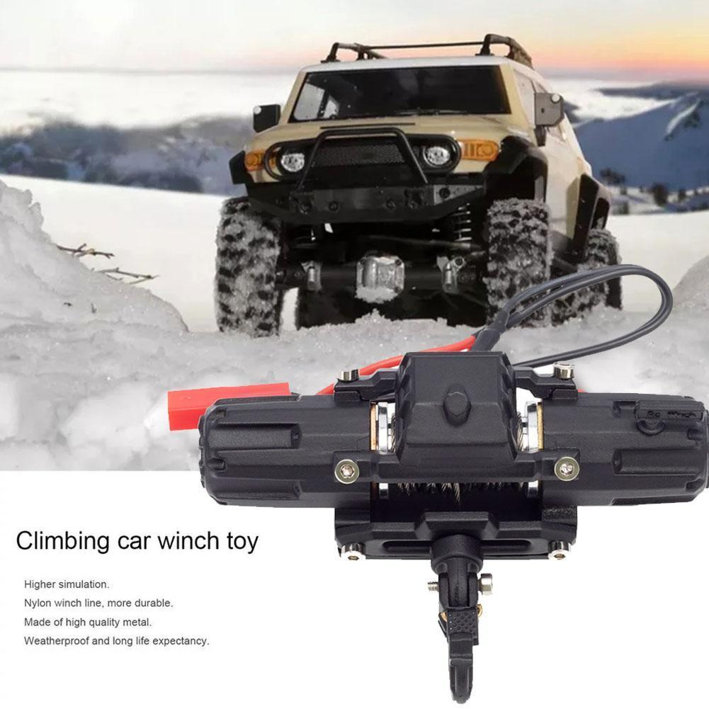 Toys For Boys Modified accessories 1/10 Simulation RC Climbing Car Full For Metal Radio DIY 90046 Control Winch