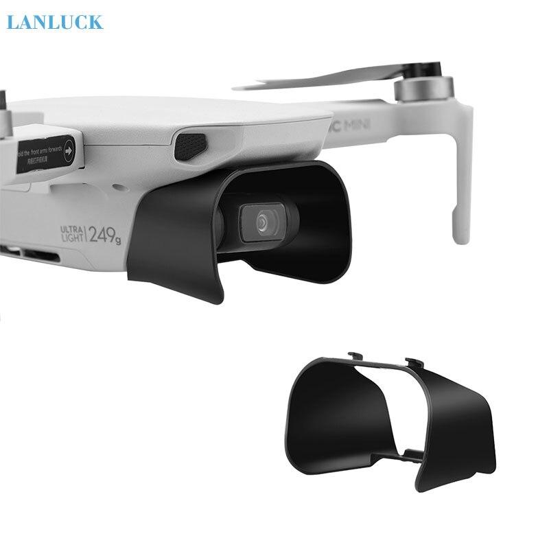 Parasol de cubierta de lente para dji mavic mini parasol de lente antideslumbrante cardán cubierta protectora de cámara para DJI Mavic Mini Accesorios
