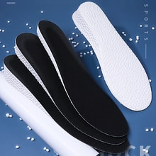FootMaster Ultra Thin Height Increase Insoles with Breathable Comfortable Polyester Bottom Shoe Inso