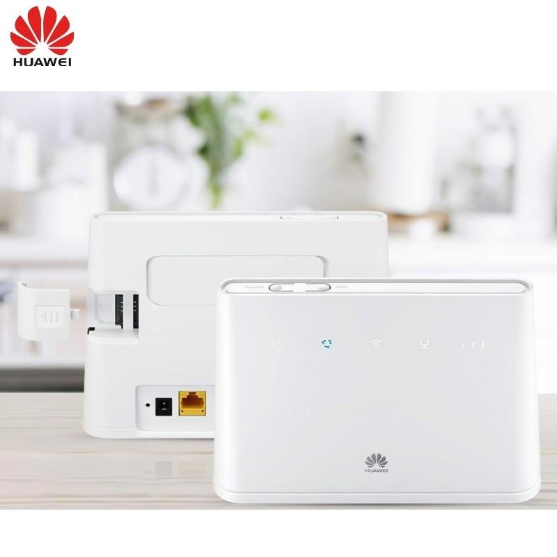 150Mbps HUAWEI B311 B311-521 4G LTE CPE WiFi Router Hotspot PK HUAWEI B310S-518