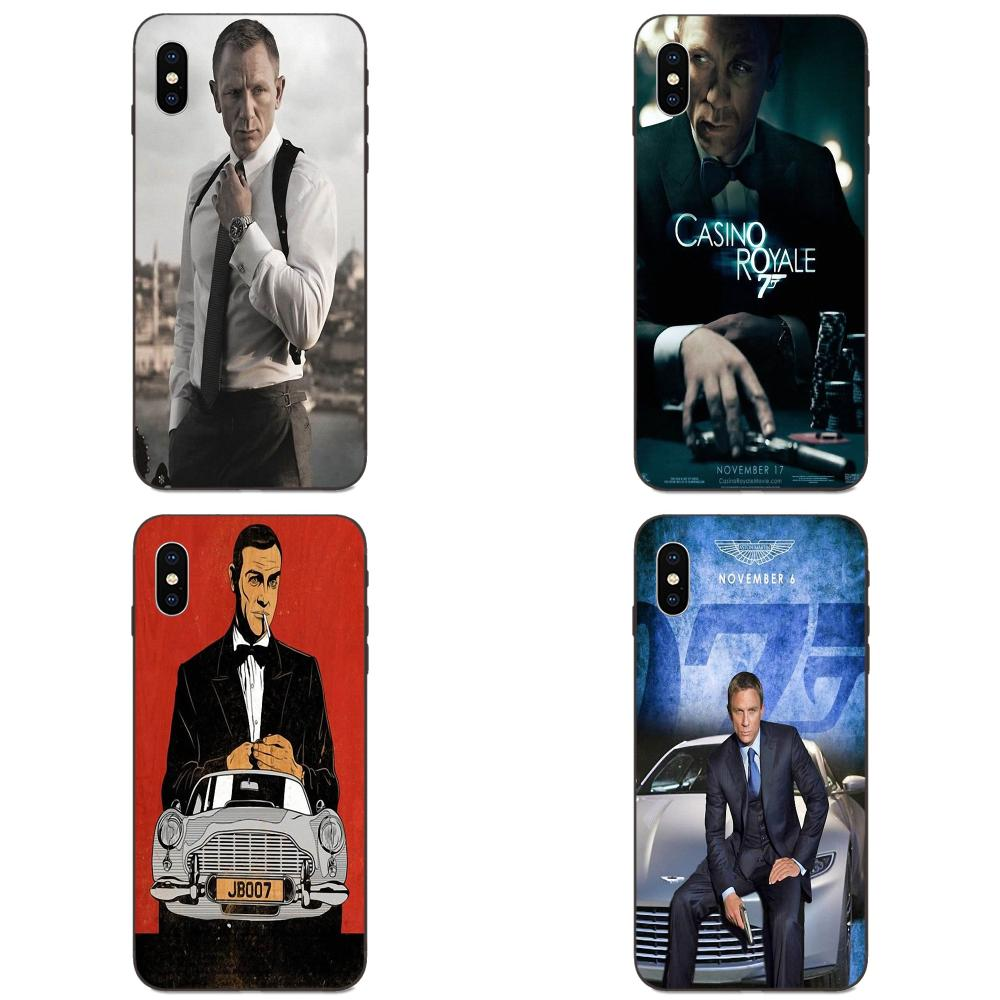 Casino Royale 007 James Bond For Galaxy A3 A5 A6 A6s A7 A8 A9 A10 A20E A30 A40 A50 A60 A70 A80 A90 Plus 2018 TPU Bags Cases