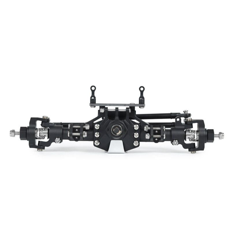 for Axial SCX10 II 90046 90047 RC Crawler Truck Metal CNC Anodized Full Front Rear Axle RC Bridge Axle RC Spare Parts enlarge