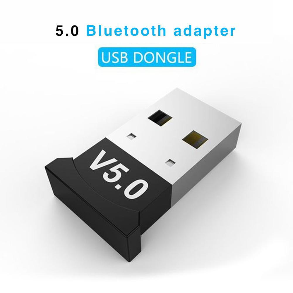 Bluetooth Adapter 5.0 USB Desktop Computer Free Drive Bluetooth Audio Receiver Dongle Audio Receiver Transmitter Windows