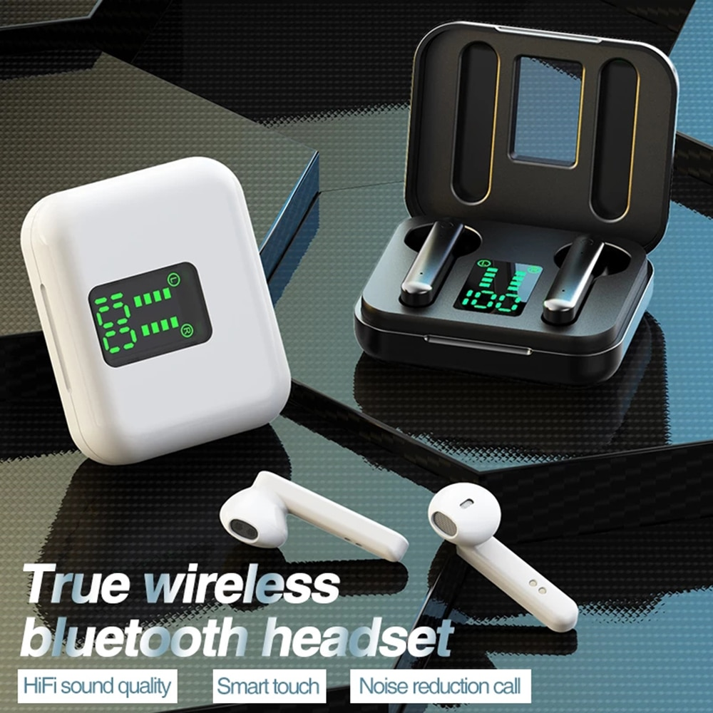 Bluetooth 5.0 Headset X15 Wireless TWS Audifonos Bluetooth Inalambrico Cuffie Earphone Wireless Earphones