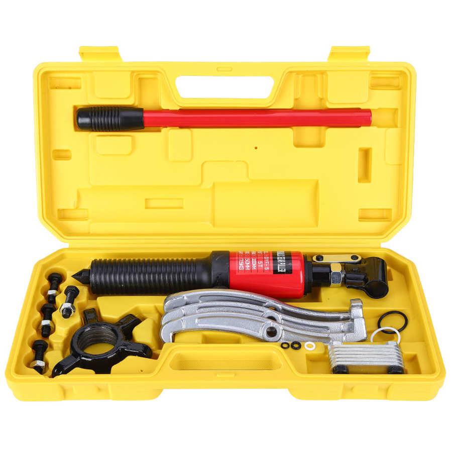 50mm Hydraulische Getriebe Puller 5 Tonnen 3 Backen Lager Puller Öl Rohr Zeichnung Werkzeug Set Fly Rad Pulley Entfernung extractor