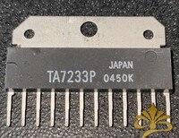 5pcs/lot    TA7233P   ZIP-12