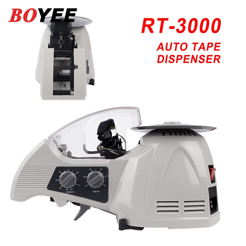 RT-3000 3 - 25 مللي متر عرض ماكينة تغليف قطع أداة ماكينة غلق كرتون التلقائي ماكينة شرائط