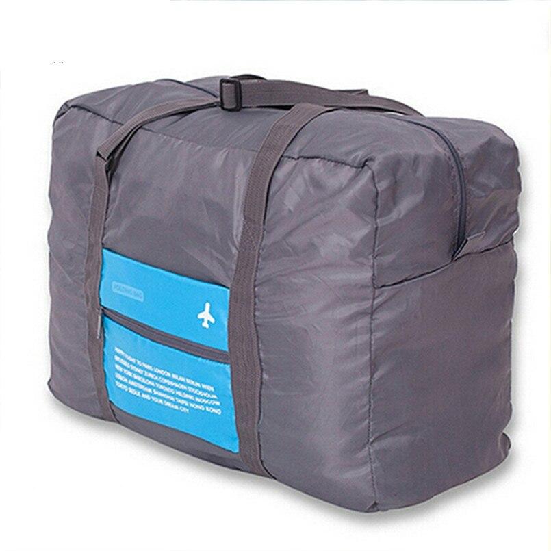 2021 New Fashion WaterProof Travel Bag Large Capacity Women Nylon Folding Unisex Luggage Handbags