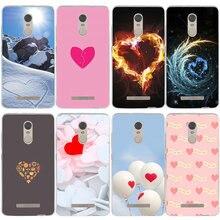 I Love Ny Red Heart Soft Mobile Phone Accessories Cases for Xiaomi Redmi Mi Note 3S 4X 4A 6 5 5S 5A 8 A1 Pro Plus Max 2 3