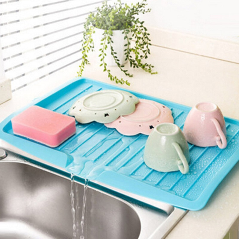 Küche Lagerung Teller Tasse Trocknen Rack Halter Organizer Abtropffläche Trockner Tablett Geschirr Wasser Drainning Werkzeug