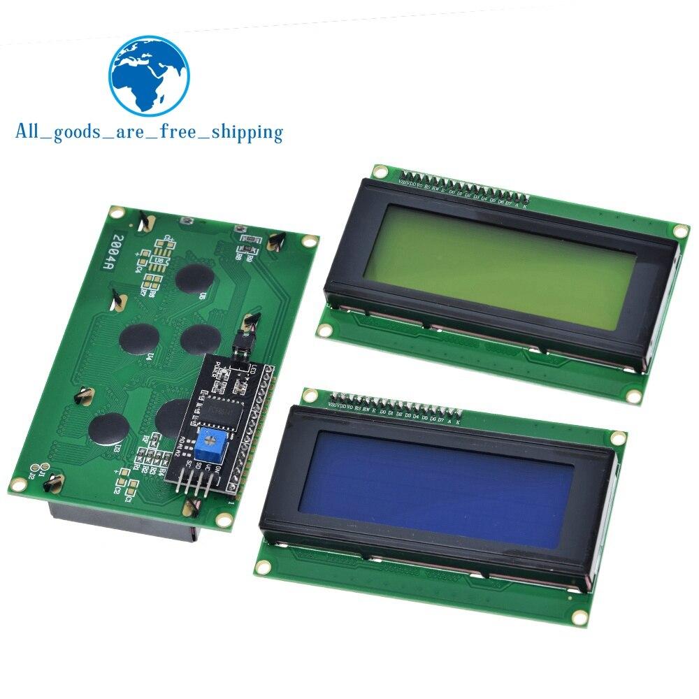 LCD 2004 + I2C 2004 20x4 2004A синий/зеленый экран HD44780 символ LCD /w IIC/I2C серийный интерфейс адаптер модуль для Arduino