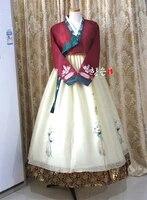 korea hanbok dress imported fabric new improved hanbok stage hanbok fine hanbok korean dress