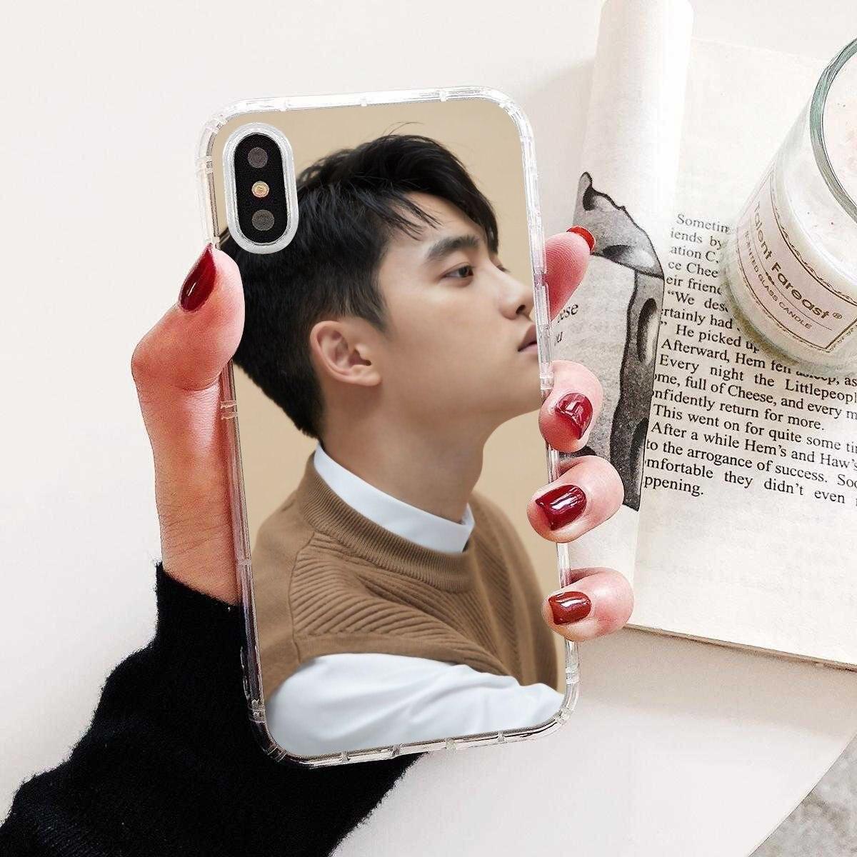For Samsung Galaxy J1 J2 J3 J4 J5 J6 J7 J8 Plus 2018 Prime 2015 2016 2017 Favorite Silicone Phone Case EXO D.O