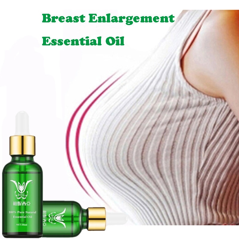 2PCS Breast Enlargement Essential Oil Frming Enhancement Breast Enlarge Big Bust Enlarging Bigger Chest Massage