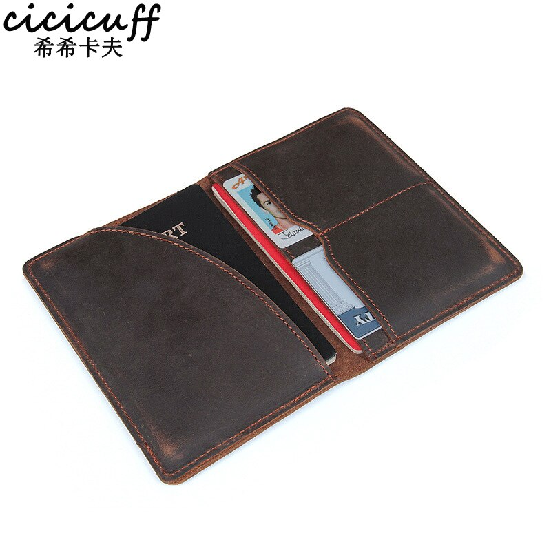Passport Cover Genuine Leather Driver License Bag Crazy Horse Leather Car Driving Document Credit Card Holder Purse Wallet Case passport cover genuine leather driver license bag crazy horse leather car driving document credit card holder purse wallet case