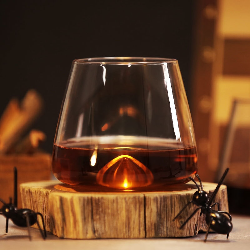 Copo de uísque barato de vórtice copo de uísque copo de vinho tinto copo de uísque