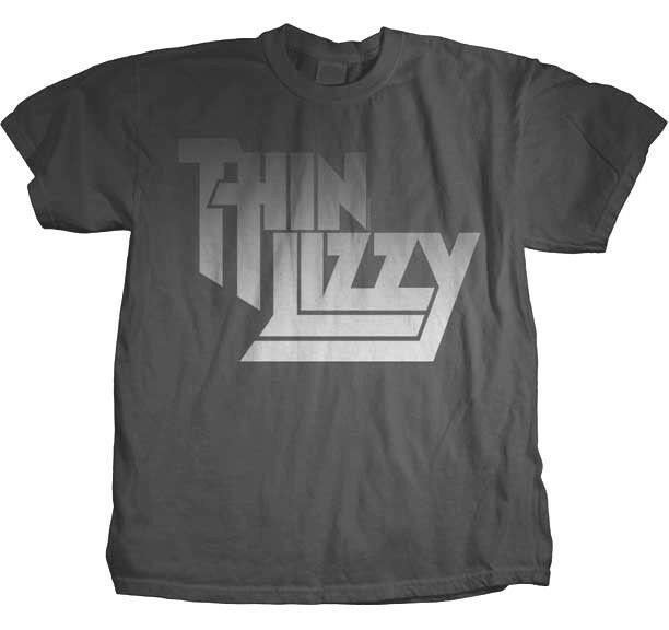 Thin Lizzy se desvaneció carta logotipo T camiseta S M L Xl nuevo oficial Hola fidelidad Merch