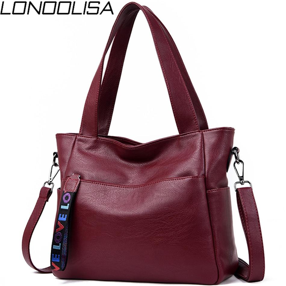 Genuine Brand Ladies Soft Leather Shoulder Bag Luxury Handbags Women Bags Designer Hand Bags For Wom