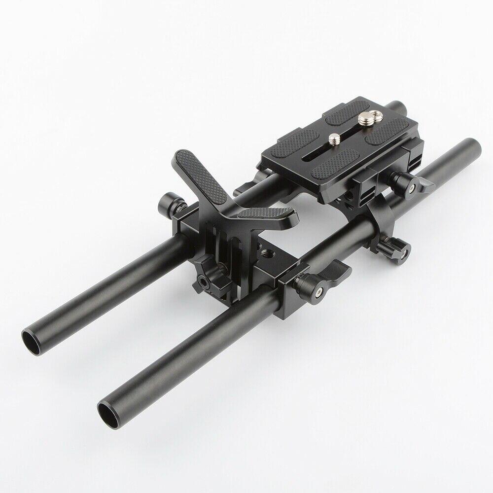 CAMVATE Manfrotto опорная пластина 15 мм опорная штанга для объектива для DSLR камеры Наплечная установка ER062
