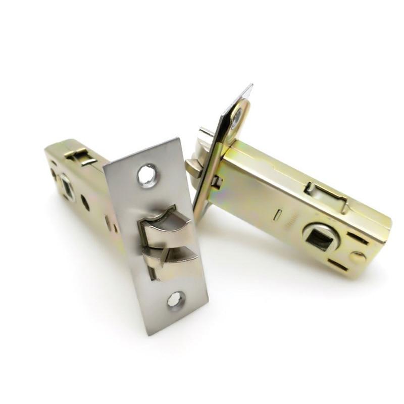 Brand New 2 قطعة الأوروبي نقر قفل الباب اللسان الأمن مكافحة سرقة قفل الباب اسطوانة استبدال أجزاء 50 مللي متر/60 مللي متر/70 مللي متر