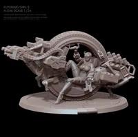 124 resin figure model kits diy toy self assembled a 546