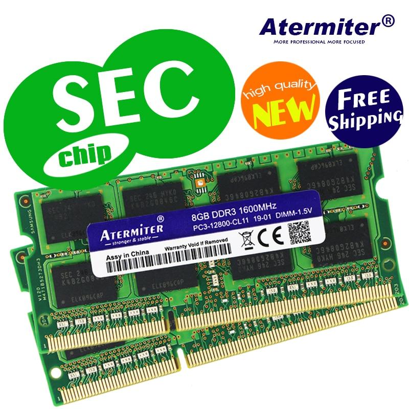 8GB 4GB 2GB 1GB 2GB 4G 4G PC2 PC3 DDR2 DDR3 667 Mhz, 800 Mhz, 1333hz a 1600Mhz 5300S 6400 de 8500 a 10600 la memoria del ordenador portátil notebook RAM segundo chip