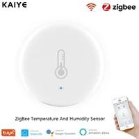 Tuya Zigbee     capteur de temperature et dhumidite pour maison connectee  fonctionne avec lassistant Google