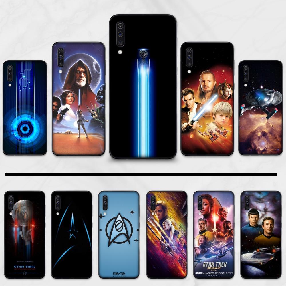 Star Trek Movie Spacecraft Soft Silicone Black Phone Case For Samsung S6 S7 edge S8 S9 S10 e plus A10 A50 A70 note8 J7 2017
