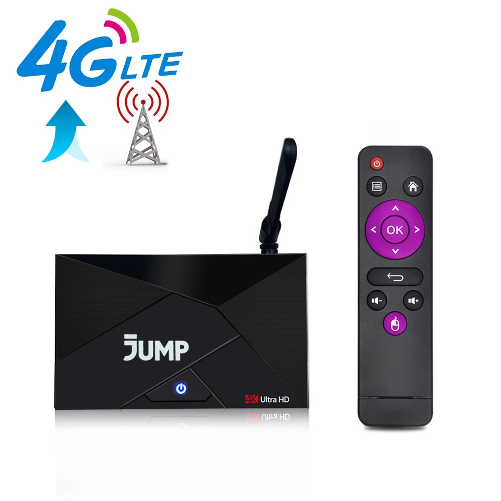 4G Lte أندرويد 7.1 صندوق التلفزيون RK3229 1GB RAM 8GB ROM الذكية فك التشفير 2.4G واي فاي هوائي 4G مايكرو سيم بطاقة مستقبلات صندوق التلفزيون