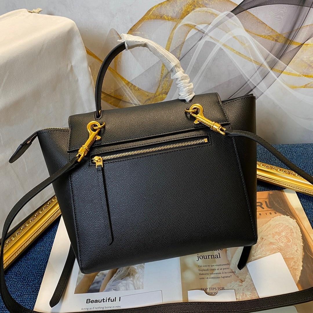 مصمم أزياء المرأة حقيبة يد حقيبة رسول الكلاسيكية الفاخرة العلامة التجارية فتاة حقيبة كتف جلد طبيعي سعة كبيرة