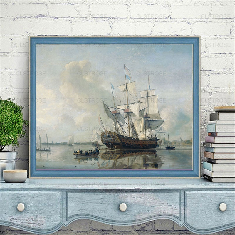 5D Diy Diamond Painting Landscape and Flower Oil Painting Home Decoration Can Be Customized Diamond Embroidery Square Diamond  - buy with discount