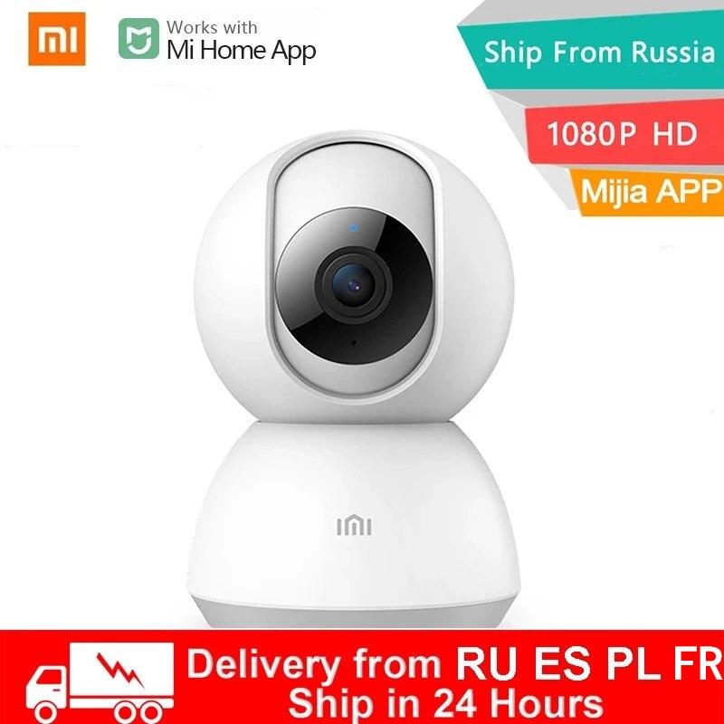 Xiaomi Smart IP-كاميرا ويب 1080P WiFi ، رؤية ليلية ، زاوية 360 درجة ، جهاز مراقبة أمان الطفل اللاسلكي لتطبيق Mi Home