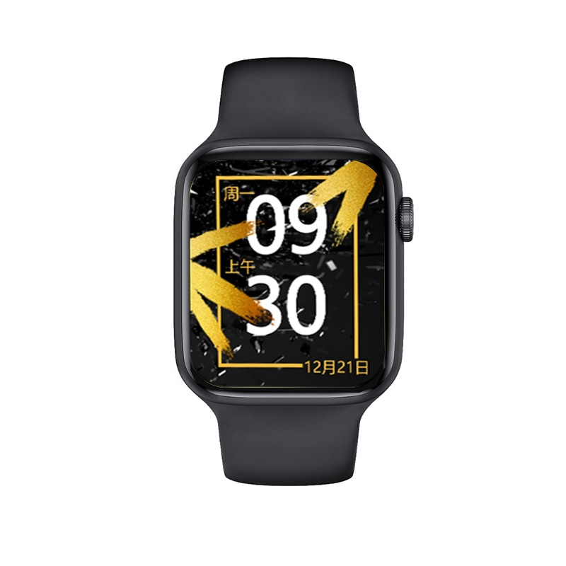 "T55+ 1.75"" IPS 320*385 Full touch screen Smart Watch Men Women Bluetooth Call Waterproof HeartRate"