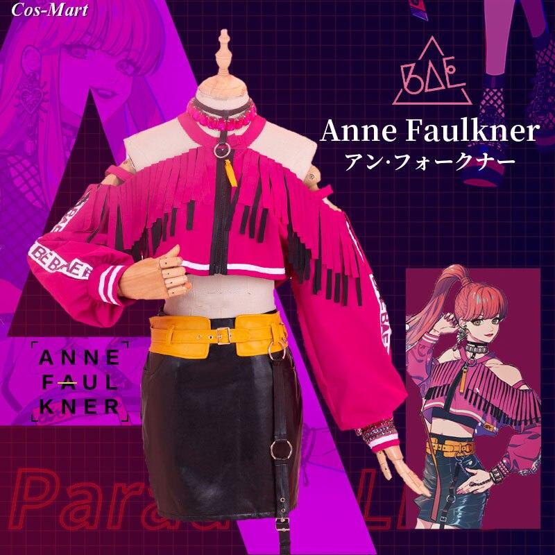 حار أنيمي المفارقة لايف آن فوكنر تأثيري حلي موضة موحدة ملابس يومية أنثى نشاط حفلة لعب الأدوار الملابس XS-XL