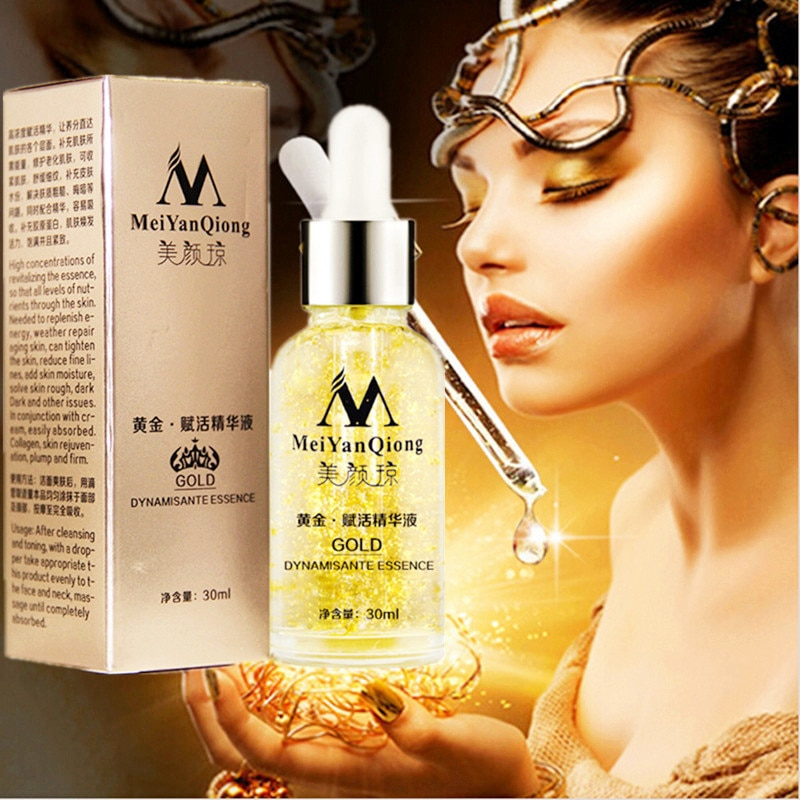 apple stem cell stoste brightening anti wrinkle anti aging reduce fine lines firming lift moisturizing shrink pores 1000ml MeiYanQiong 24K Gold Anti Aging Facial Serum Improve Fine Lines Anti Wrinkle Moisturizing Brighten Shrink Pores Firm Skin Care