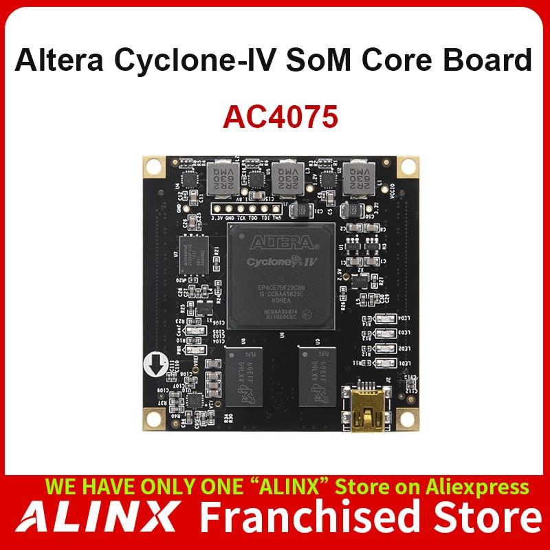 ALINX SoM AC4075: ALTERA CYCLONE IV EP4CE75 FPGA Industrial Grade System on Module