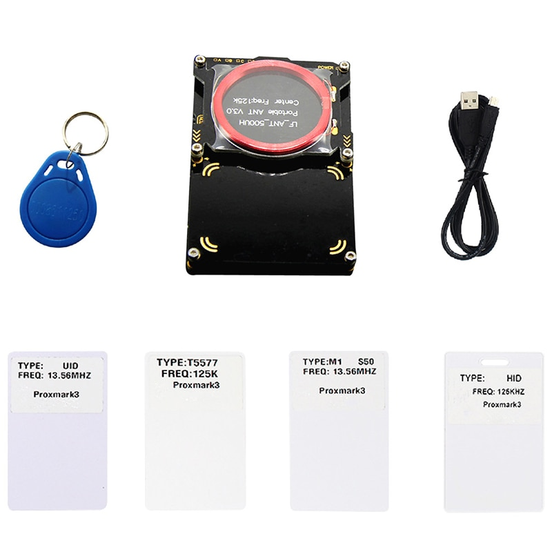Zestawy Proxmark3 Developer Suite 3.0 Proxmark RDV4 NFC czytnik RFID Writer dla Rfid karta Nfc kopiarka Crack 2 Port USB 512K